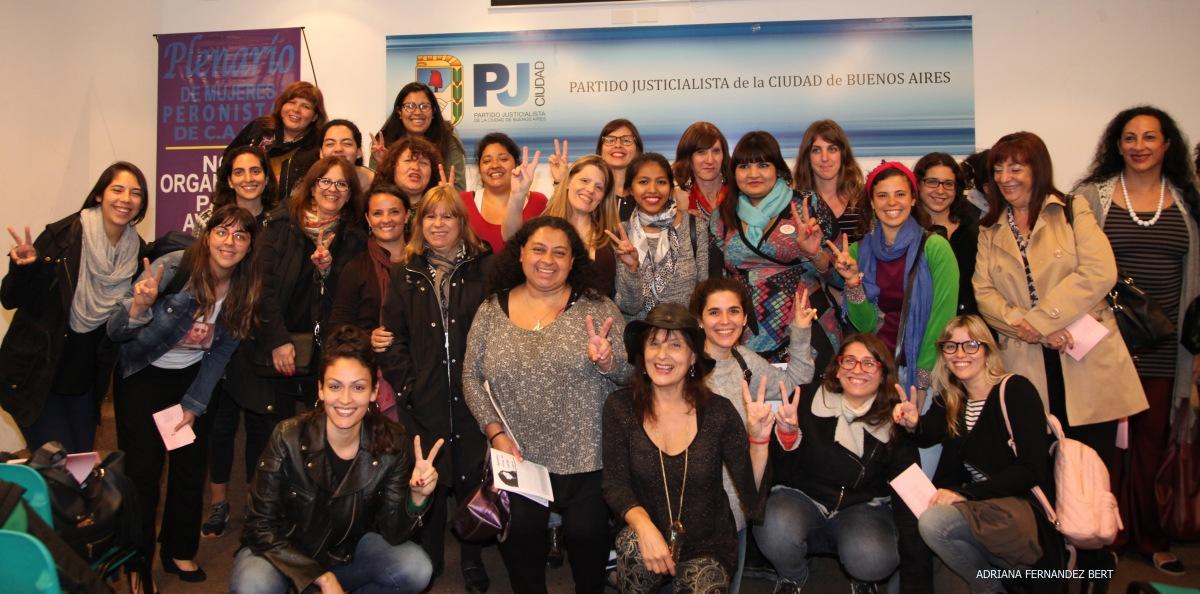 Formación en género en el Partido Justicialista de la Ciudad