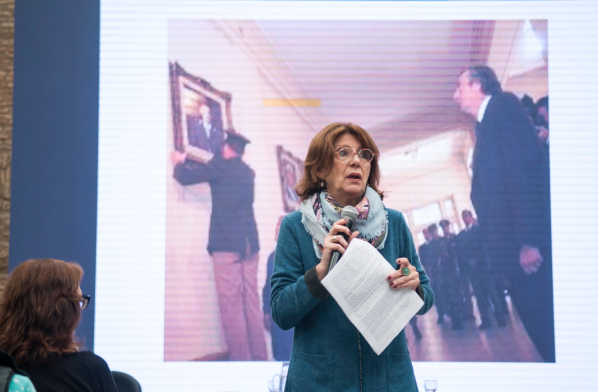 María Roqueta, ex Jueza Federal que condenó a perpetua a Videla, realizó jornada de formación