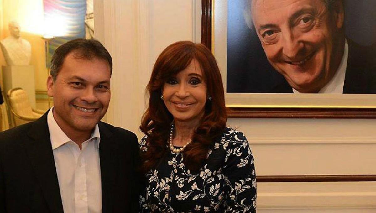 """Walter Festa: """"Cristina es mi candidata o el que ella defina""""."""